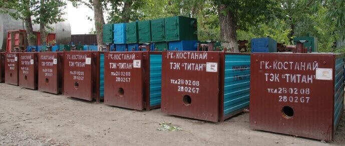 Газовый котел КВЖ-4 площадь м² 4000