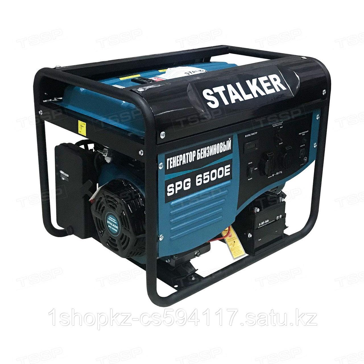 Бензиновый генератор SPG 6500E Stalker