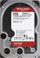 """Жёсткий диск WD Red Western Digital WD60EFAX 6ТБ 3,5"""" 5400RPM 256MB (SATA-III) NAS Edition"""