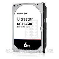 "Жесткий диск повышенной надежности HDD 6Tb WD ULTRASTAR DC HC310 256MB 7200RPM SAS 3,5"" ULTRA 512E SE P3 HUS726T6TAL5204 0B36047."