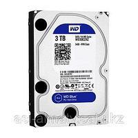 Жесткий диск HDD 3Tb Western Digital Blue SATA 6Gb/s 64Mb 5400rpm WD30EZRZ.