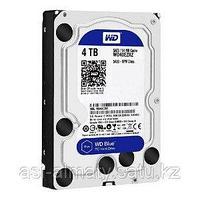 Жесткий диск HDD 4Tb Western Digital Blue SATA 6Gb/s 64Mb 5400rpm WD40EZRZ.