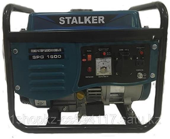Бензиновый генератор SPG 1600 Stalker, фото 2