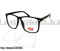 Компьютерные очки с тонкой душкой матовые Ray Ban QB 2457 черные