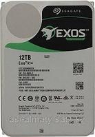 "Жесткий диск Exos X14 HDD 12TB Seagate Enterprise Capacity 512E ST12000NM0038 3.5"" SAS 12Gb/s 256Mb 7200rpm"