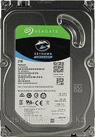 "Жесткий диск HDD 2TB Seagate SkyHawk ST2000VX008 3.5"" SATA 6Gb/s 64Mb 5900rpm для систем видеонаблюдения"