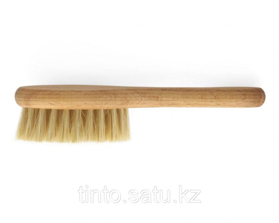 Расческа-щетка для волос из натурального бука, щетина кактус Спивак
