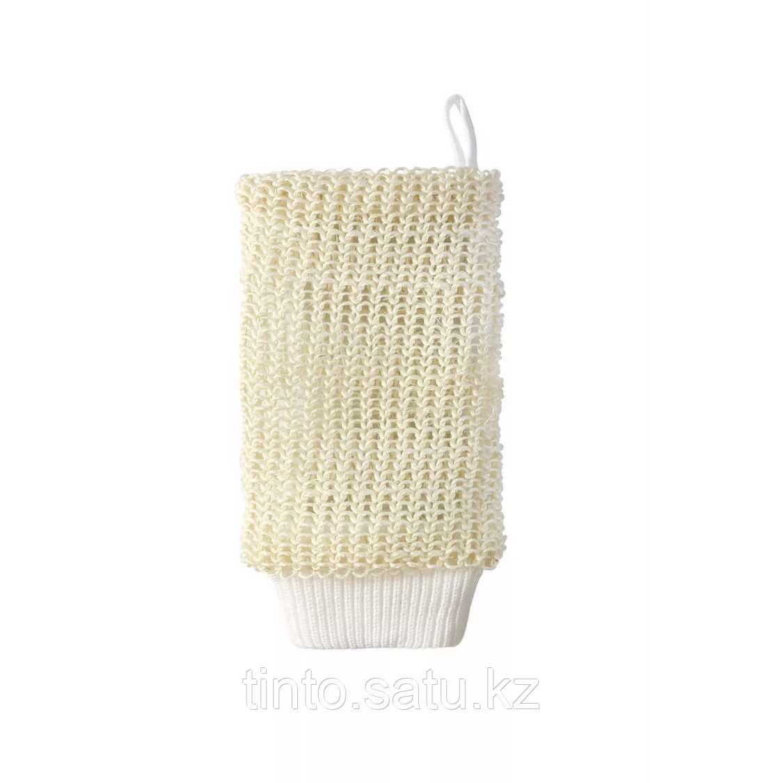 Мочалка-рукавица из сизаля (Мойдодыр)