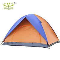 Палатка турист на 3-4 человека водонепроницаемая, палатка 2 2, двухслойная