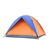 Палатка турист на 3-4 человека водонепроницаемая, палатка 2 2, двухслойная, два входа.