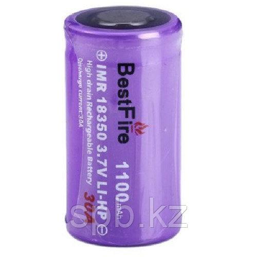 Аккумулятор 18350 1100 mAh 3.7V Li-ion