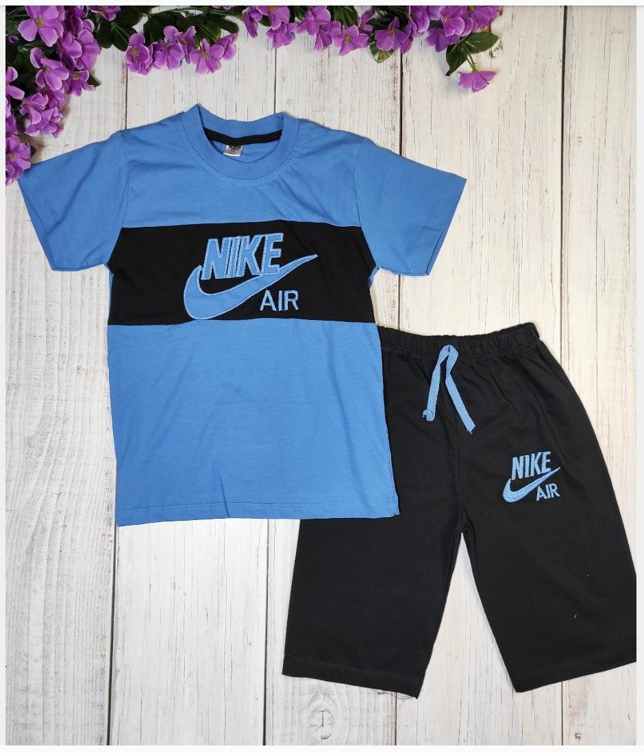 """Костюм летний """"Nike"""", цвет синий"""