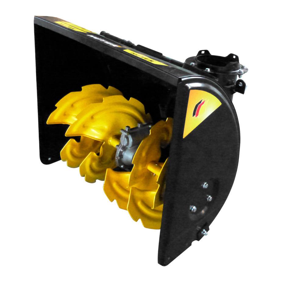 Насадка-снегоуборщик для подметательной машины