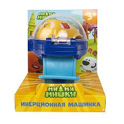 Игровой набор МИ-МИ-МИШКИ, Кеша, инерционная машинка в синих часах.