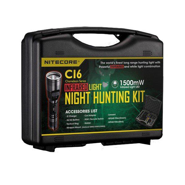 Фонарь NITECORE CI6 HUNTING KIT INFRAREA (Black)