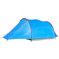 Палатка турист 3х местная, палатка двухслойная, водонепроницаемая
