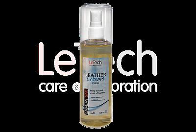 Ароматизатор с запахом натуральной кожи ФРЭШ (LEATHER AROMA FRESH) от LeTech