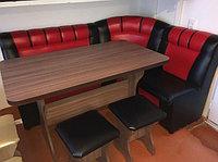Кухонный уголок мягкий (стол + диван)