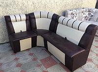 Угловой кухонный диван на заказ