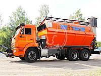 Комбинированная дорожная машина шасси КАМАЗ 65115 МДК 10.0
