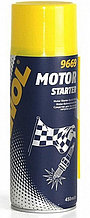 Быстрый старт MANNOL MOTOR STARTER 9669 балончик 0,450гр.