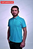 Футболка мужская Polo, Бирюзовый, фото 1