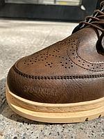 Ботинки без лого корич