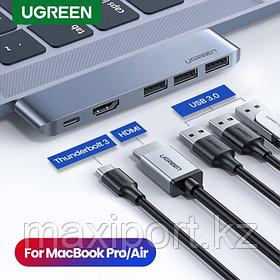 Ugreen 6in1 многофункциональный адаптер поддержка 6к поддержка Macbook