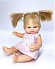 Малышка - новорожденная в платье, 28 см (Falca, Испания)