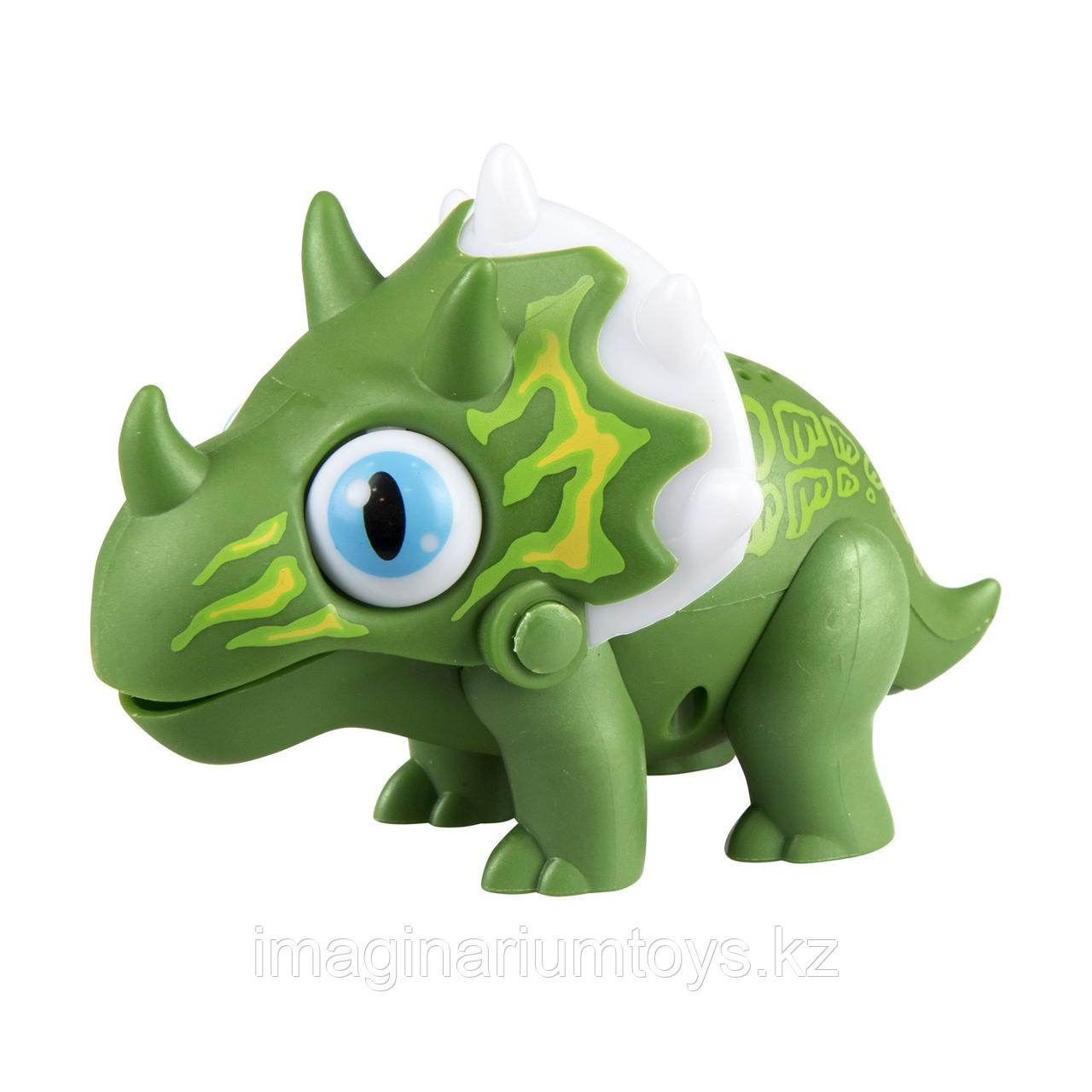Робот динозавр интерактивный Глупи зеленый Silverlit