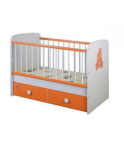Кроватка для новорожденных Glamvers Magic Plus (Оранжевый)