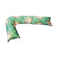 Подушка для беременных и кормления Podushechka Г образная (Цветной принт)