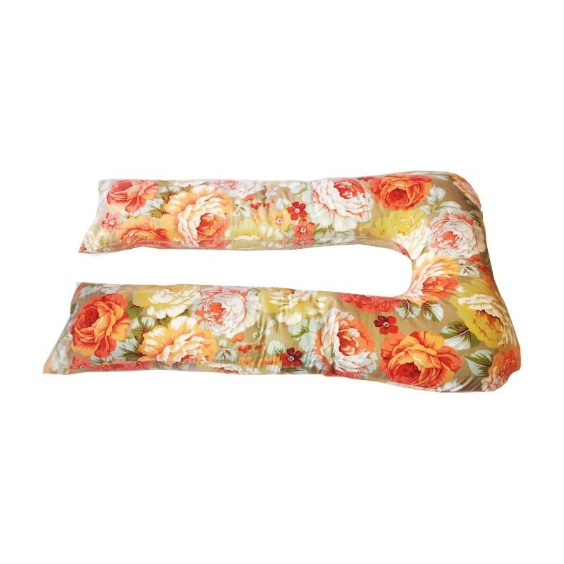 Подушка для беременных и кормления Podushechka U образная (цветной принт)