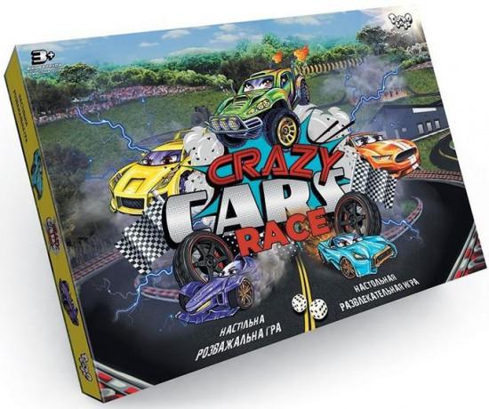 Игра настольная «Crazy Cars Race»