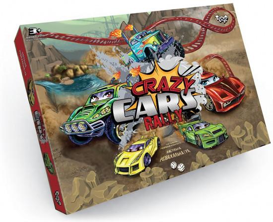 Игра настольная «Crazy Cars Rally»