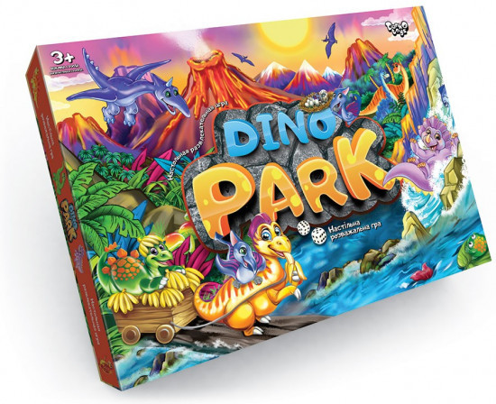 Игра настольная «Dino Park»