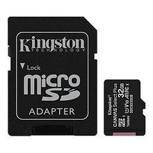 Kingston SDCS2/32GB-3P1A Карта памяти 32GB micro SDHC Canvas Select Plus 100R A1 C10 Three Pack + Single ADP