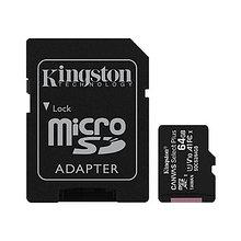 Kingston SDCS2/64GB Карта памяти 64GB microSDXC Canvas Select Plus 100R A1 C10 Card + Adapter