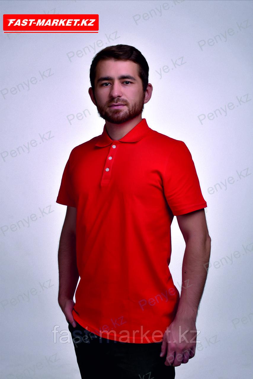 Поло футболки оптом красного цвета