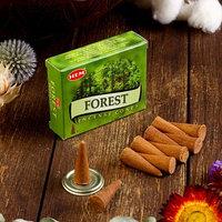 Благовония 'HEM Forest' (Лес), 10 конусов (комплект из 11 шт.)