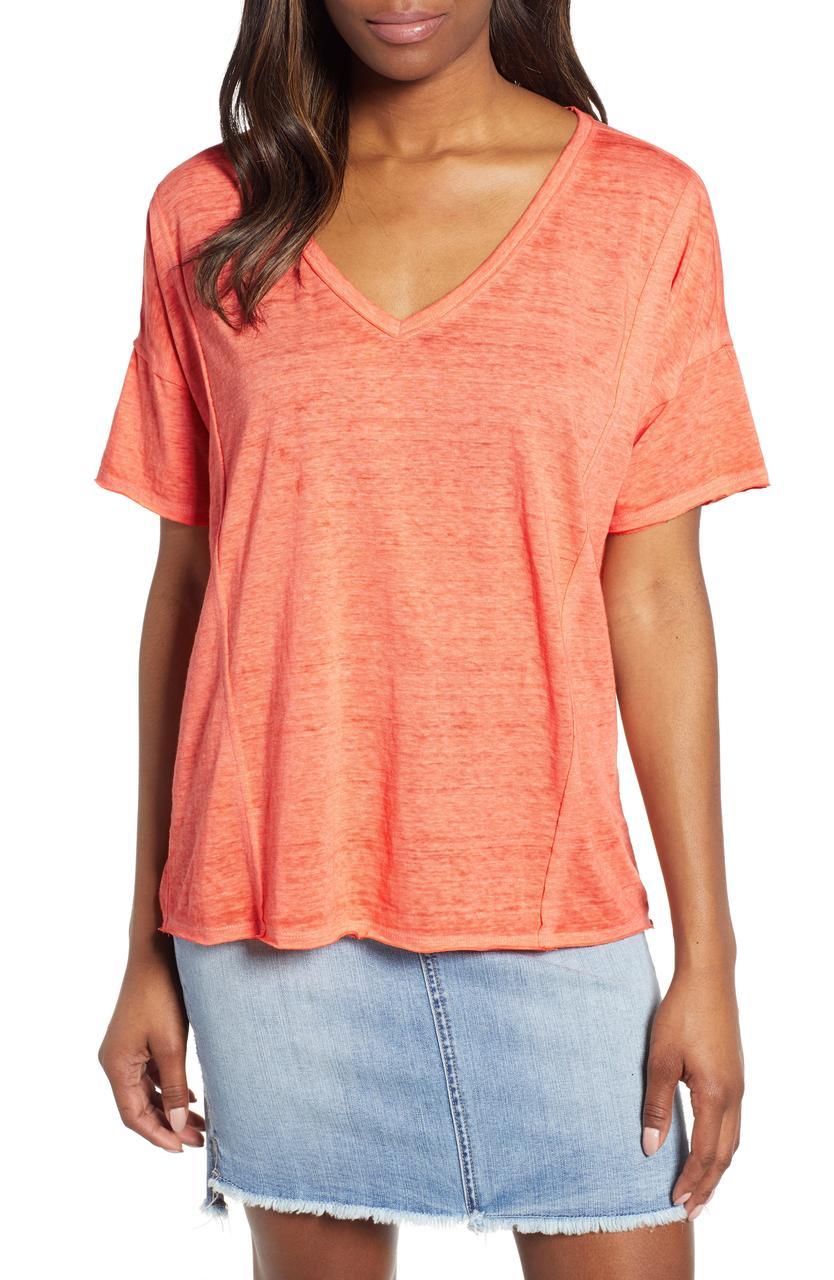 Lucky Brand Женская футболка 2000000388427