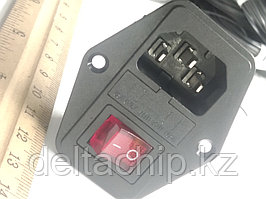 Выключатель клавишный 250V 6A ON-OFF