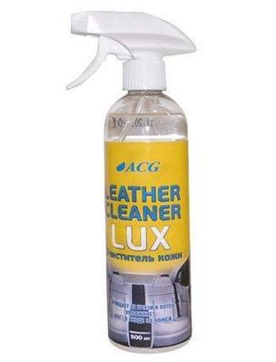 Очиститель кожи в салоне автомобиля ТРИГГЕР 500 мл. LEATHER CLEANER LUX ACG