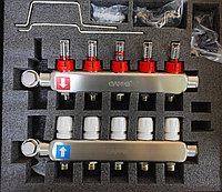 Коллекторный блок 5* вых нерж термо+расх G 424.5 GAPPO