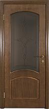 Межкомнатная дверь модель323 дуб тонированный