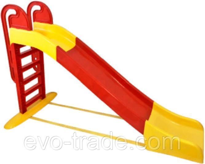 Детская Горка Doloni Веселый спуск (красный) - фото 3
