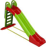 Игровой комплекс Doloni Веселый спуск (зеленый)