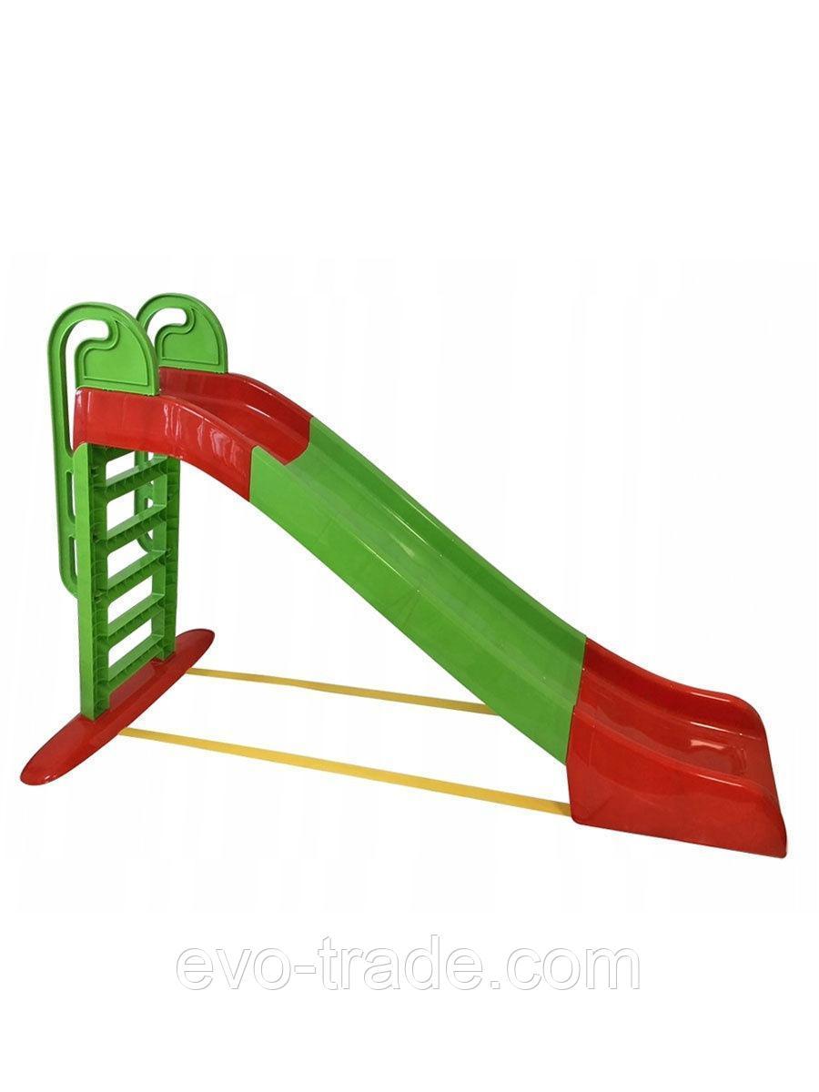 Детская горка Doloni Веселый спуск (зеленый)