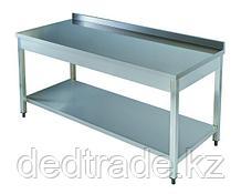 Рабочий стол Нержавеющая сталь Размеры 1400х600х850 мм