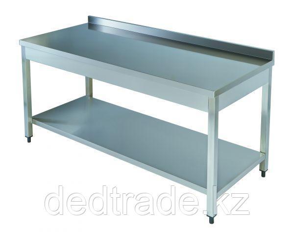 Рабочий стол Нержавеющая сталь Размеры 1800х600х850 мм